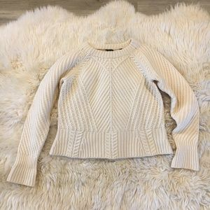 Burberry Extra fine wool sweater mint Small